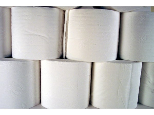 Many rolls of toilet paper.