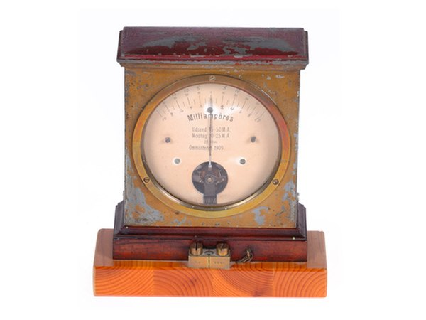 how to wire an auto meter amp gauge pictures ehow standalone antique ammeter