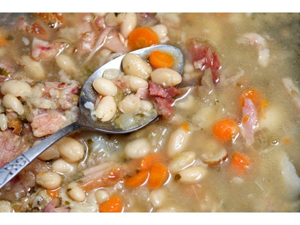 Beans are a good meat substitute; you'll use half as much.