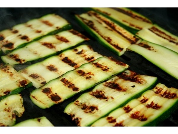 The only way to get these marks on zucchini is to grill it.