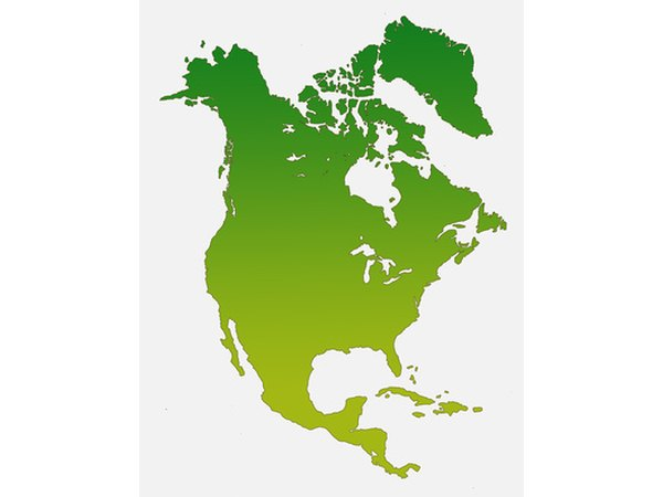 The North American Continent