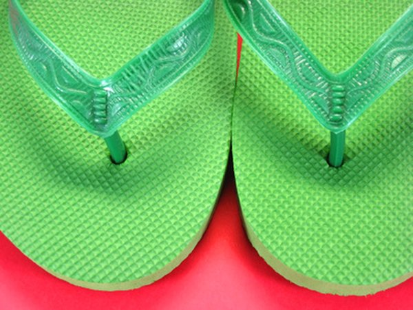 Write the party information on the bottom of bright, funky flip flops as your invitations.