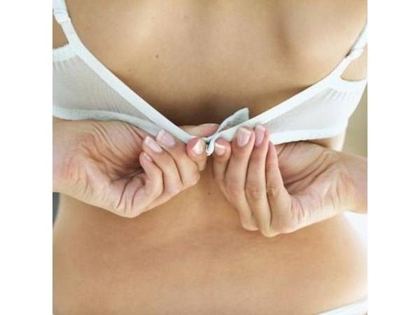 One of the most overlooked causes of tender breasts is incorrect bra size.