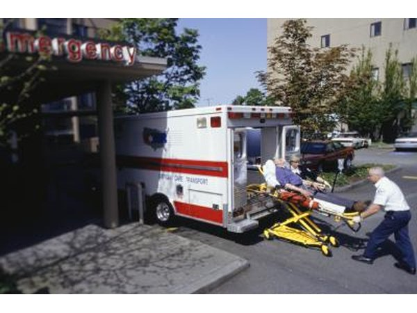 There are five levels of EMT providers.