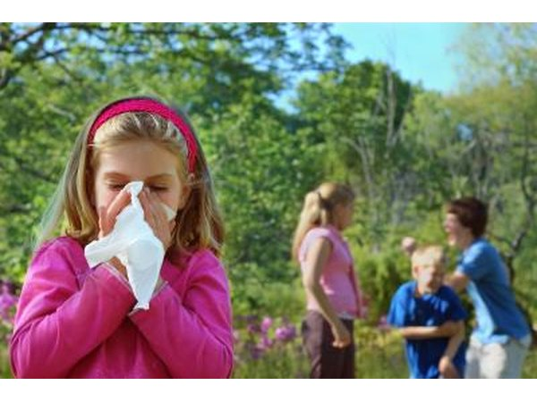 Allergies can trigger an attack.
