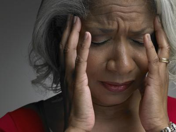 Older patients may experience mental symptoms for a month or more.