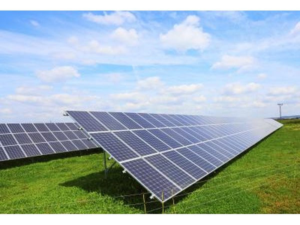 PV cells convert the sun's rays directly into electricity.
