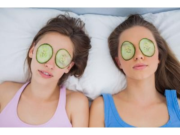 Cucumbers can prevent dark circles when placed on the eyes.