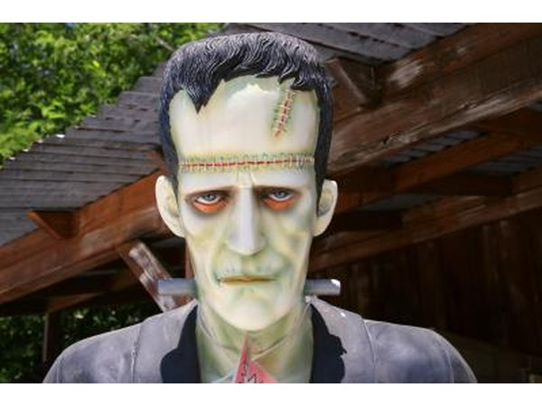 Frankenstein character costume or statue