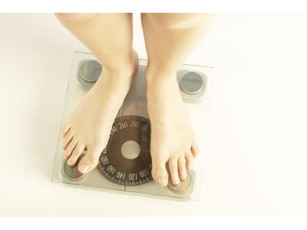 A common symptom of estrogen dominance is weight gain.