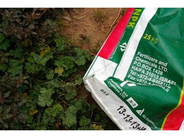 Use a fertilizer formulated for lawns in your part of the country.