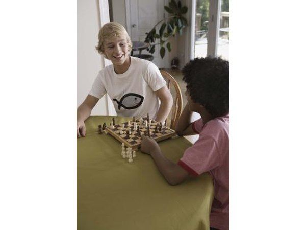 Gift a handcrafted ivory chess set to a budding master.