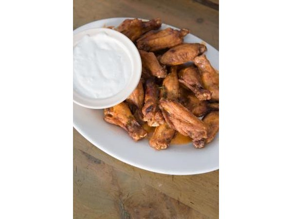 For best results, make a variety of chicken wing flavors for your party.