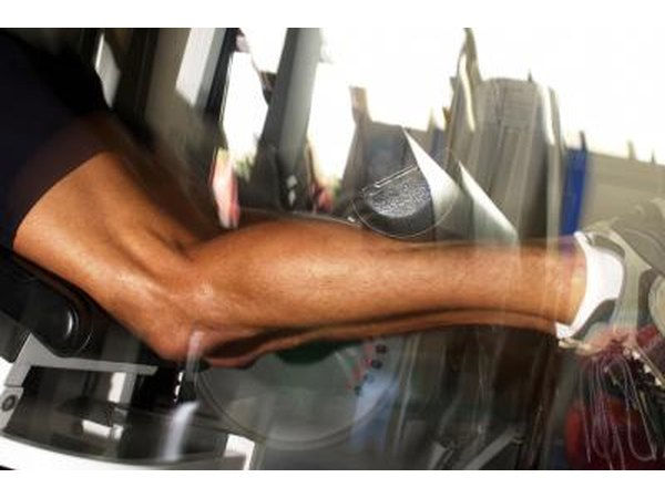 Add exercised specifically designed to strengthen your leg muscles.