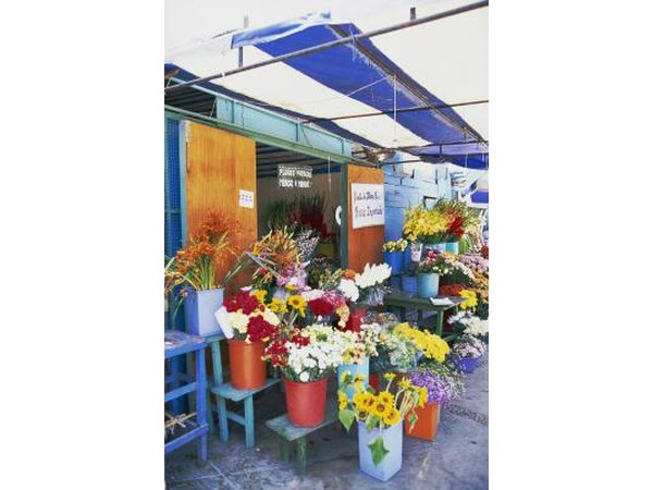 Flower's at market