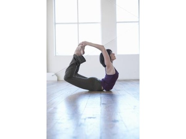 The Bow pose relieves tightness in your chest.