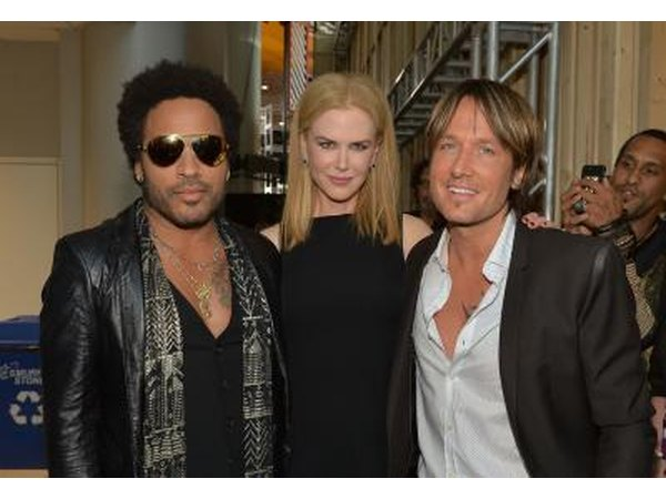 Nichole Kidman came close to marrying rock musician Lennie Kravitz.