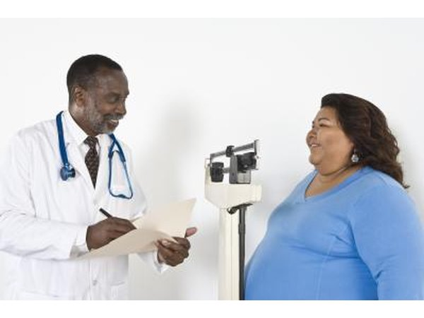 Determine how your doctor feels about obesity.