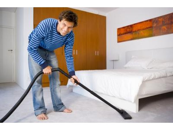 Vacuum and thoroughly wipe down surfaces in infested areas of your home.