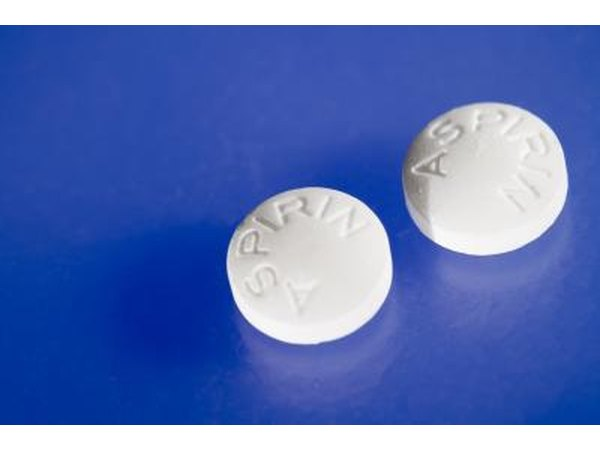 Aspirin or ibuprofen can help control the pain of broken or bruised ribs.