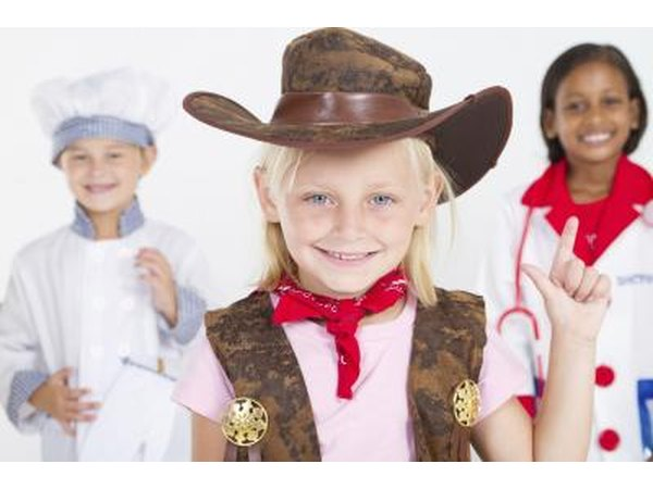 Cowgirl costume.