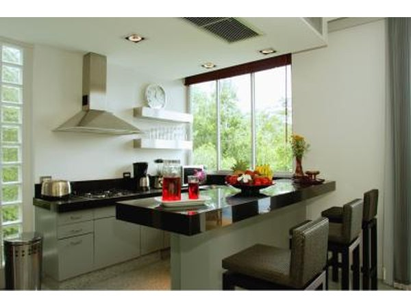 A cost comparison of countertops with pictures ehow for Laminate countertops cost per linear foot