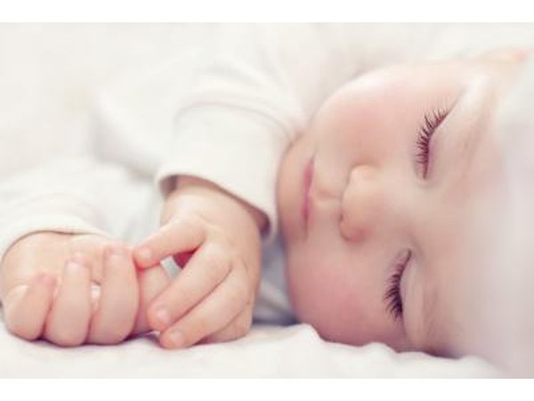 Infants require 10.5 to 18 hours of sleep each day.