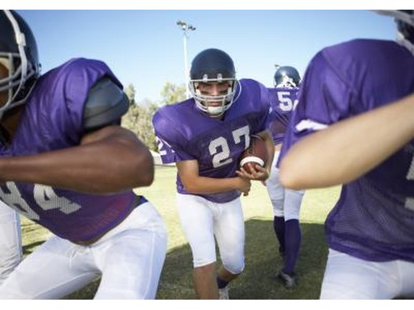 MCL sprains are common in football players.