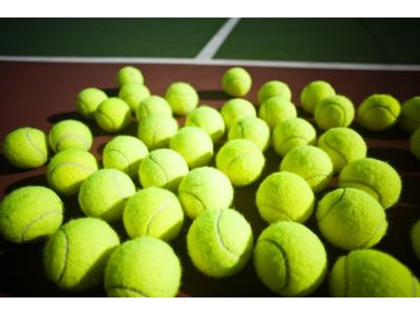 A tennis ball can be used to apply pressure.