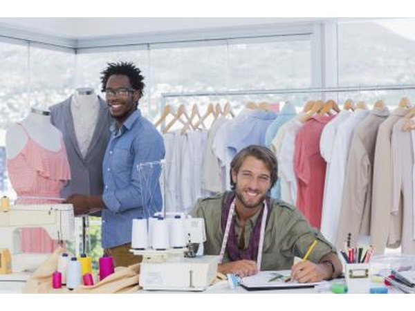 Garment production jobs are common in the fashion industry.