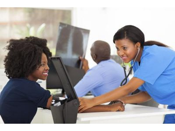 Medical support assistants provide important links between doctors and patients.