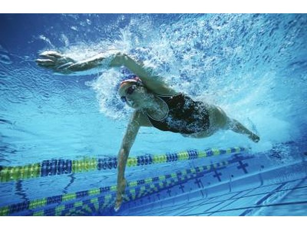 Swimming should be avoided due to the risk of drowning.