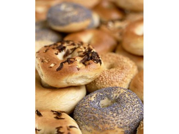 Eat bagels in moderation.