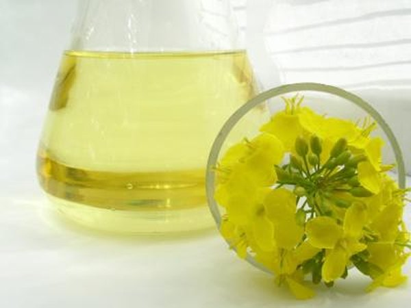 Canola oil and flowers.