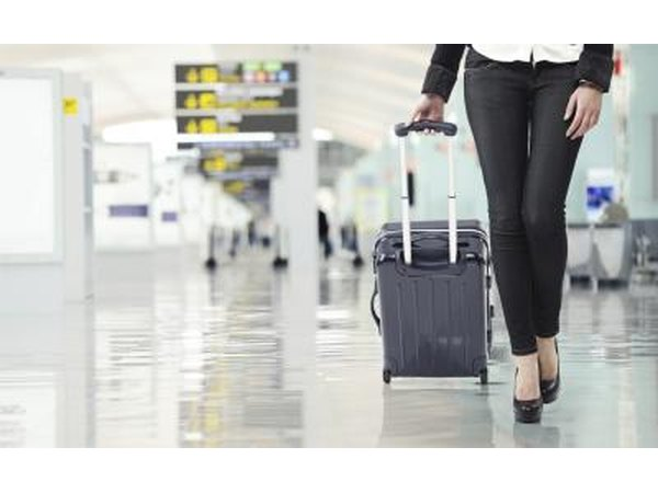 LAX follows industry and government standards regarding checked luggage.