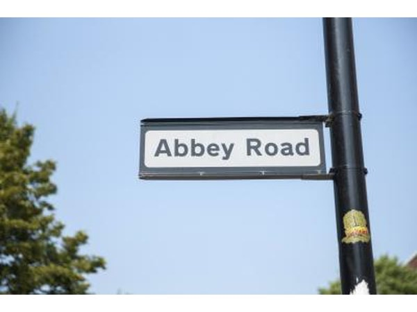 Abbey Road is one of The Beatles' most famous albums.
