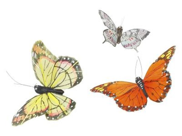 Create a butterfly almost as unique as a real one using recycled magazine pages.