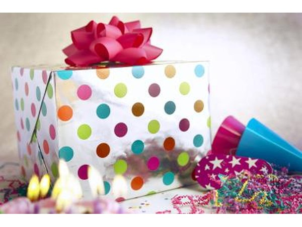 Create a scavenger hunt for her primary gift.