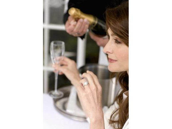 A toast to a particular person can happen at a ladies luncheon.
