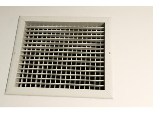 Check the return air grilles throughout the home or business and remove any objects that may be blocking those areas.