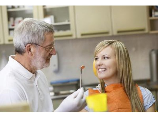 A good dentist needs extensive knowledge about teeth, gums and mouth in order to properly evaluate problems.