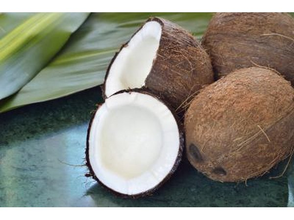 Allergic reactions to coconuts are rare but possible.