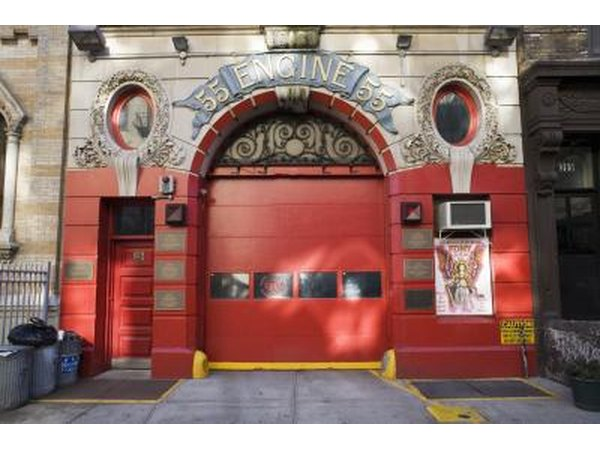 Fire station in New York.