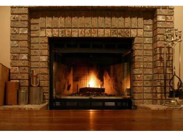 If you like vintage looks, add a bit of history to your home by using historic tile or traditional brick to create your fireplace surround