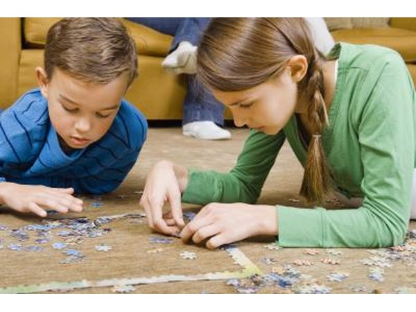 Puzzles are good gifts for all ages