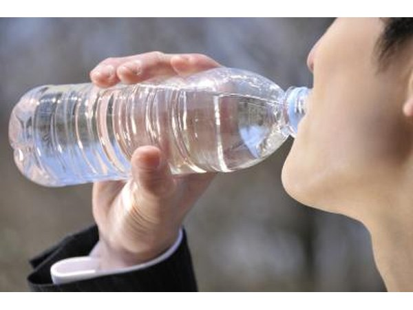 drinking water will dilute stomach acids