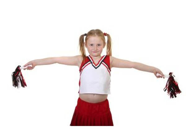 Cheerleader costume.