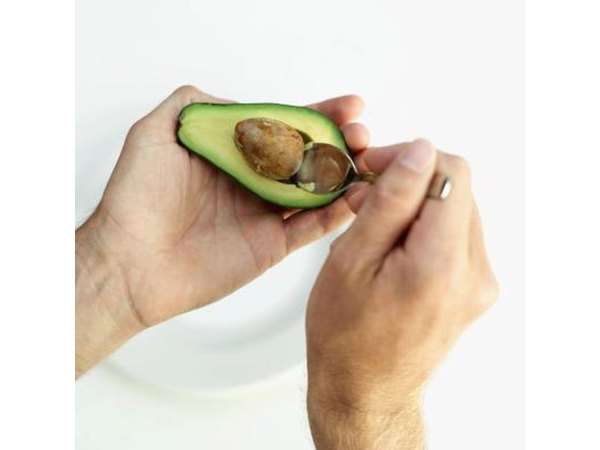 Avocados have high fiber.