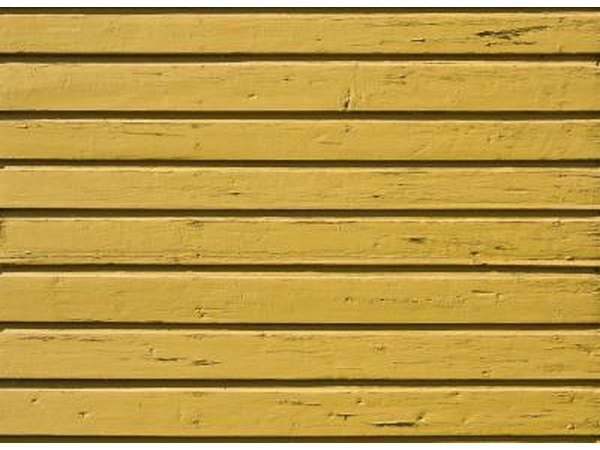 yellow wooden fence