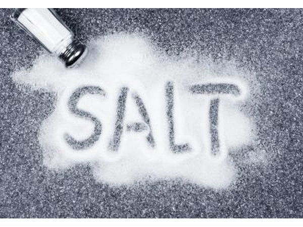 Low sodium salt is often made of potassium chloride.